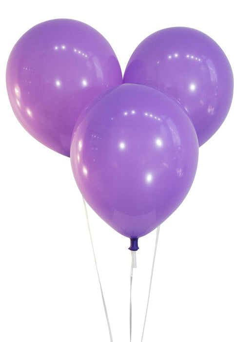 9 Inch Decorator Lavender Latex Balloons | 144 pc bag