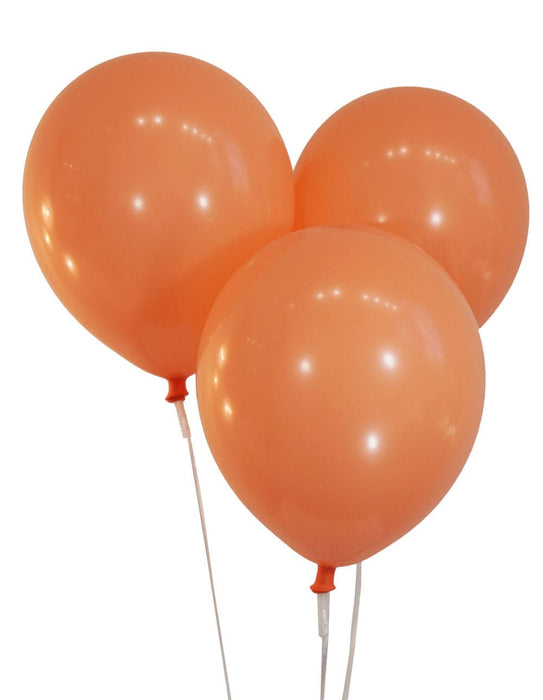 12 Inch Decorator Peach Latex Balloons | 144 pc bag