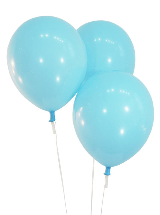 9 Inch Latex Balloons | Decorator Sky Blue | 144 pc bag