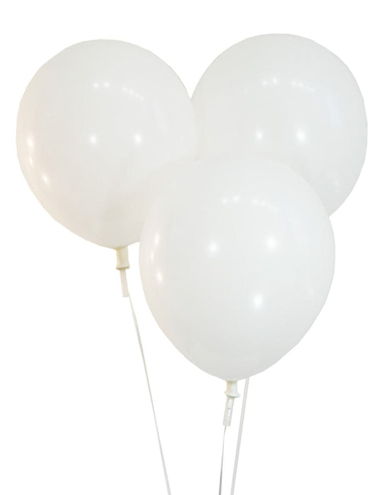 "10"" Snow White Latex Balloons 