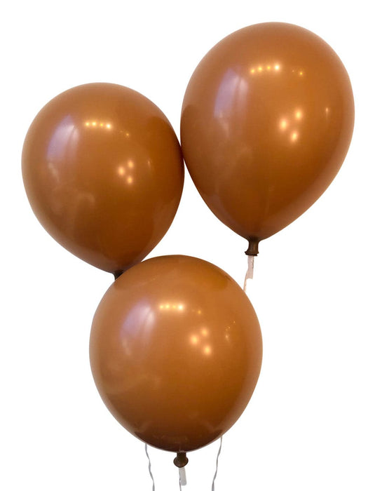 12 Inch Decorator Caramel Latex Balloons | 144 pc bag