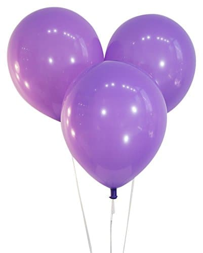 Bulk 9 Inch Latex Balloons | Decorator Lavender | 144 pc bag x 10 bags
