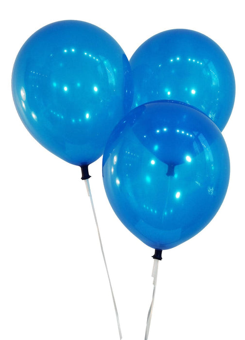 "10"" Navy Blue Latex Balloons 