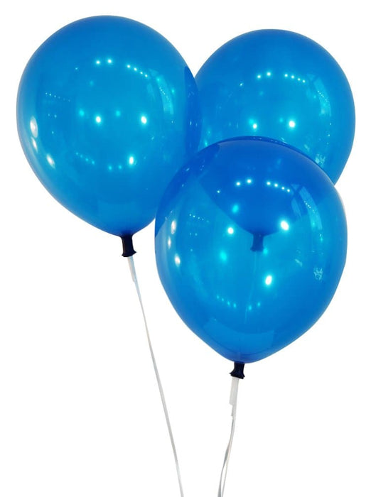 9 Inch Latex Balloons | Decorator Navy Blue | 144 pc bag