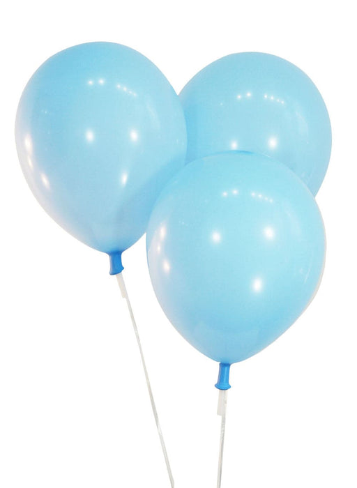 9 Inch Latex Balloons | Pastel Baby Blue | 144 pc bag
