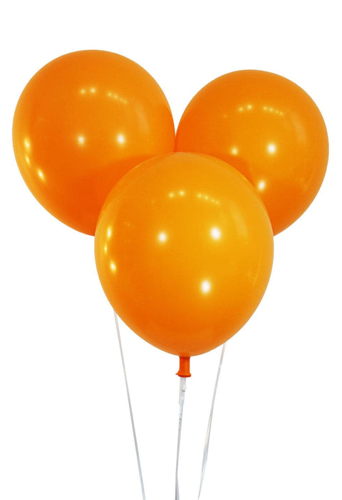 Wholesale 9 Inch Latex Balloons | Pastel Orange | 144 pc bag x 50 bags