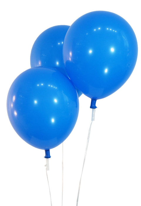 Wholesale 12 Inch Latex Balloons | Pastel Royal Blue | 144 pc bag x 25 bags