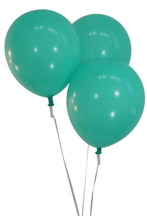Bulk 12 Inch Latex Balloons | Pastel Aqua | 144 pc bag x 10 bags