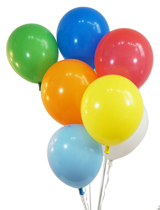 Bulk 12 Inch Latex Balloons | Pastel Assortment | 144 pc bag x 10 bags