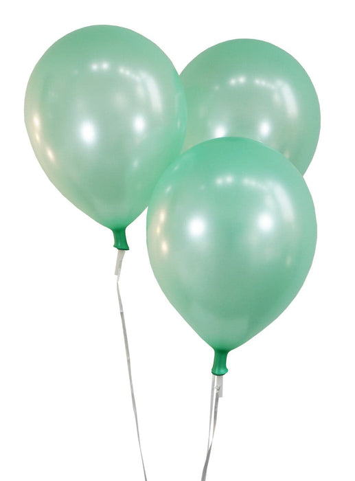 Bulk 12 Inch Latex Balloons | Pearlized Green | 144 pc bag x 10 bags