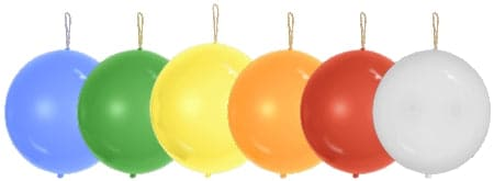 Punch Balls | Punching Balloons | 100 pc