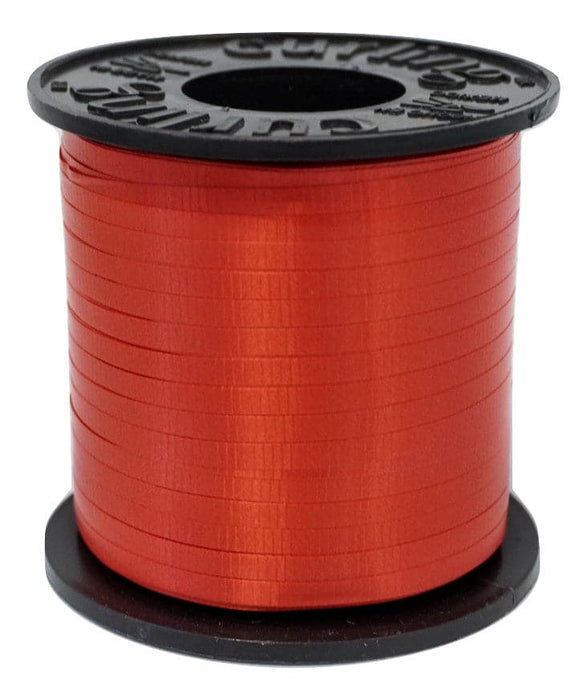 Red Balloon Ribbon | 500 Yard Length Spool | 5 Spool Value Pack