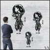 Atlas - Black Metal Wall Art
