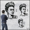 Frida - Black Metal Wall Art