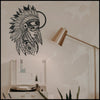 Indigenous v.3 - Black Metal Wall Art