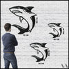 Shark - Black Metal Wall Art