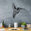 BEE BIRD - Black Metal Wall Art