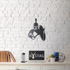 SPARTA - Black Metal Wall Art