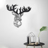 STAG - Black Metal Wall Art