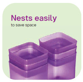 Nests easily to save space