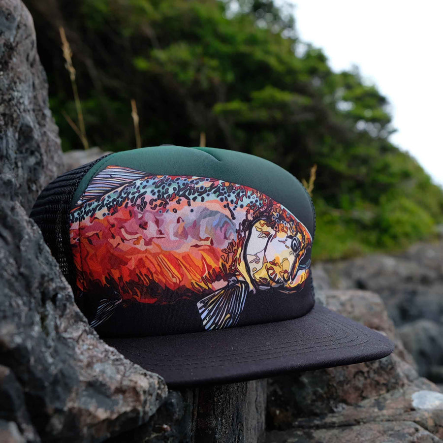 King Salmon Trucker Hat