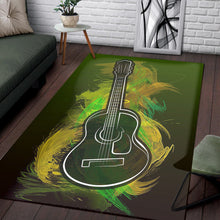 Load image into Gallery viewer, Acoustic Craze  Music Rug,  Living room and bedroom Rug,  Halloween Gift