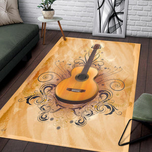 Acoustic Elegance  Area Rugs,  Kitchen Rug,  Family Decor