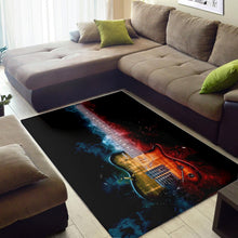 Load image into Gallery viewer, Allan Holdsworth Guitar  Music Rug, Living Room Rug,  Christmas Gift