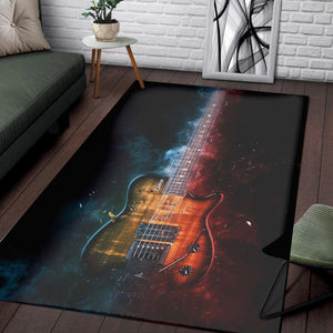 Allan Holdsworth Guitar  Music Rug, Living Room Rug,  Christmas Gift