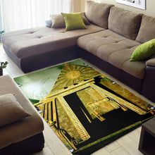 Load image into Gallery viewer, Awesome Pyramid  Music Rug,  Living room and bedroom Rug,  Floor Decor