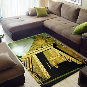 Awesome Pyramid  Music Rug,  Living room and bedroom Rug,  Floor Decor