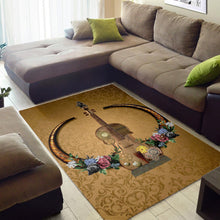 Load image into Gallery viewer, Awesome Steampunk Violin  Music Rug,  Gift for fans,  Floor Decor