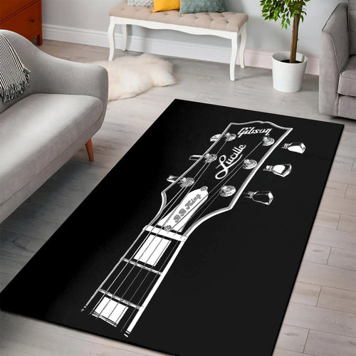 Bb King Lucille  Rug,  Gift for fans,  Halloween Gift