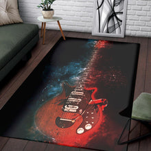 Load image into Gallery viewer, Brian May Guitar  Instrument Area Rug, Living Room Rug,  Family Decor
