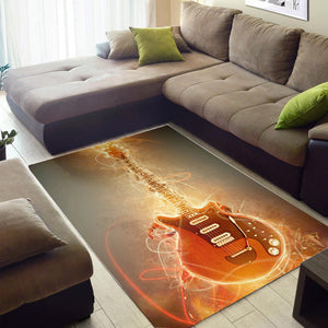 Brian May Guitar  Music Rug,  Gift for fans, Home Decor