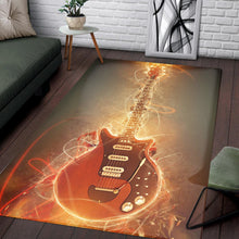 Load image into Gallery viewer, Brian May Guitar  Music Rug,  Gift for fans, Home Decor