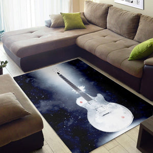 Buckethead Guitar  Rug, Living Room Rug,  Christmas Gift