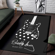 Load image into Gallery viewer, Buddy Guy  Rug,  Bedroom,  Floor Decor