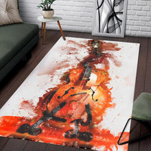 Load image into Gallery viewer, Caricature Jack W S Guitar  Instrument Area Rug,  Kitchen Rug,  Christmas Gift