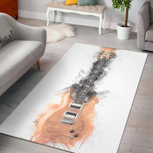 Load image into Gallery viewer, Carlos Santana Guitar L  Rug, Living Room Rug,  Family Decor
