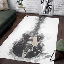 Load image into Gallery viewer, Chuck Berry Guitar  Instrument Area Rug,  Living room and bedroom Rug,  Floor Decor