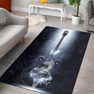 Chuck Berry Guitar  Printing Instrument Rug,  Kitchen Rug,  Christmas Gift