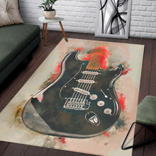Load image into Gallery viewer, David Gilmour Guitar  Printing Instrument Rug,  Living room and bedroom Rug,  Halloween Gift