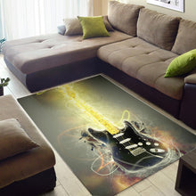 Load image into Gallery viewer, David Gilmour  Printing Instrument Rug,  Living room and bedroom Rug,  Family Decor