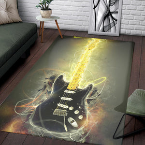 David Gilmour  Printing Instrument Rug,  Living room and bedroom Rug,  Family Decor