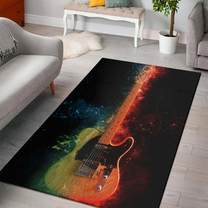 Duane Allman Guitar  Rug,  Bedroom,  Christmas Gift