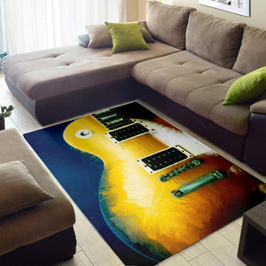 Electric Guitar  Music Rug,  Kitchen Rug, Home Decor
