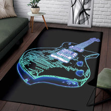 Load image into Gallery viewer, Electric Guitar  Rug, Living Room Rug,  Halloween Gift