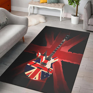 Epiphone Gibson Guitar  Area Rugs,  Kitchen Rug,  Floor Decor