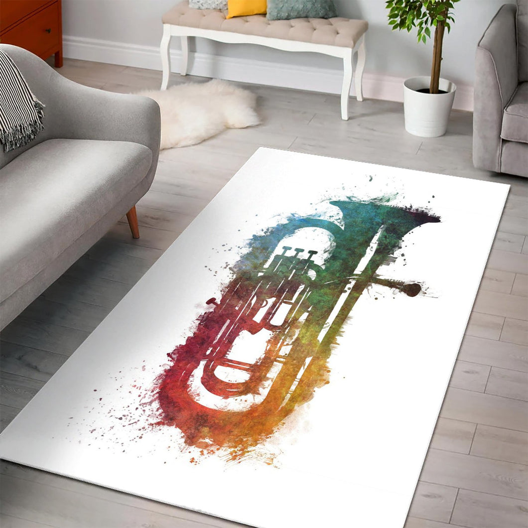 Euphonium  Area Rugs,  Gift for fans,  Halloween Gift